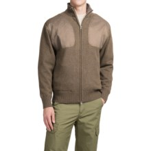 Southern Proper Madison Shooting Sweater - Full Zip (For Men) in Riverstone - Closeouts