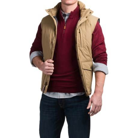 Southern Proper Quilted Varsity Vest - Insulated (For Men) thumbnail