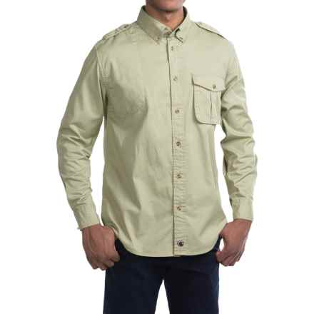 Southern Proper Shooting Shirt - Long Sleeve (For Men) in Putty - Closeouts