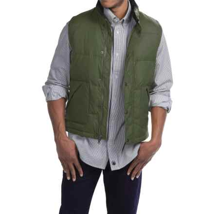 Southern Proper WLS Down Vest - Insulated (For Men) in Pine Green - Closeouts