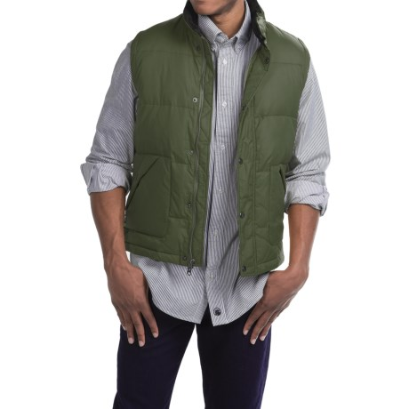 Southern Proper WLS Down Vest - Insulated (For Men) in Pine Green