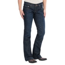 Southern Thread The Maddox Jeans - Low Rise, Bootcut (For Women) in Dark Stone Wash - Closeouts