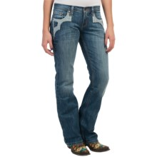 Southern Thread The Melody Jeans - Bootcut (For Women) in Mid Wash - Closeouts