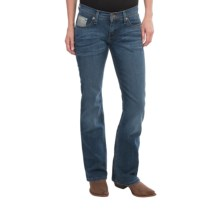 Southern Thread The Ronnie Jeans - Low Rise, Bootcut (For Women) in Dark Stone Wash - Closeouts