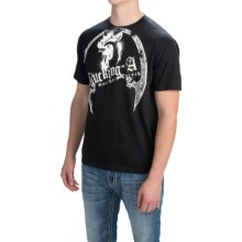 Southern Thread Vintage Athletic T-Shirt - Short Sleeve (For Men) in Black - Closeouts