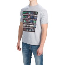 Southern Thread Vintage Athletic T-Shirt - Short Sleeve (For Men) in Heather Grey - Closeouts