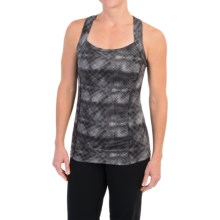 Soybu Alecia Tank Top - UPF 50+, Built-In Sports Bra (For Women) in Black Halftone - Closeouts