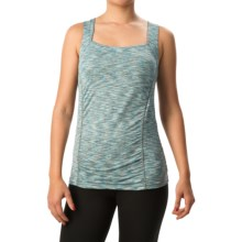 Soybu Alecia Tank Top - UPF 50+, Built-In Sports Bra (For Women) in Gemstone Marl - Closeouts