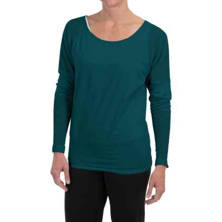 Soybu Alma Shirt - Long Dolman Sleeve (For Women) in Gemstone - Closeouts