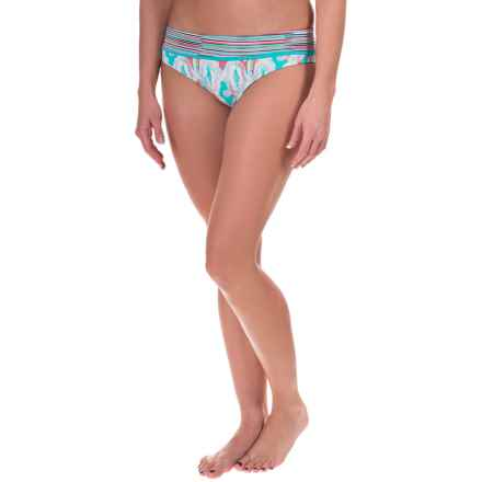 Soybu Amalfi Band Bikini Bottoms (For Women) in Motion - Closeouts