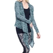 Soybu Aubrey Wrap - Long Sleeve (For Women) in Gemstone - Closeouts