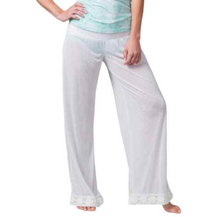 Soybu Baja Swimsuit Cover-Up Pants (For Women) in White - Closeouts