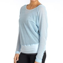 Soybu Cassie Shirt - Dolman Long Sleeve (For Women) in Candlelight - Closeouts