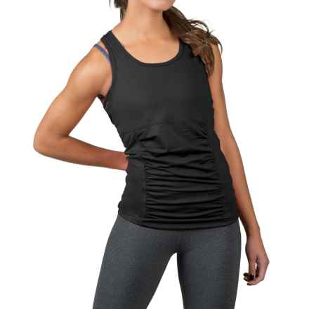 Soybu Challenge Tank Top - UPF 50+, Built-In Shelf Bra (For Women) in Black - Closeouts