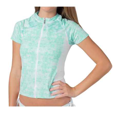 Soybu Clearwater Rash Guard - Short Sleeve (For Women) in Mirage - Closeouts