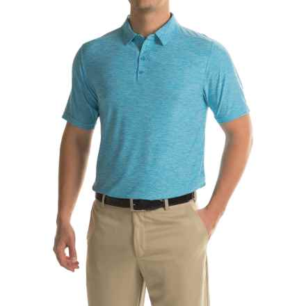 Soybu Continuum Polo Shirt - Short Sleeve (For Men) in Belize - Closeouts