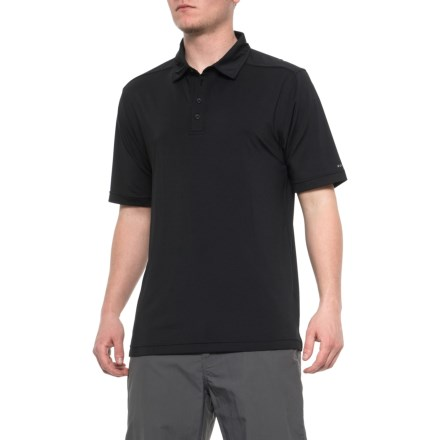 a9d428ec Soybu Continuum Polo Shirt - Short Sleeve (For Men) in Black - Closeouts