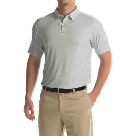 Soybu Continuum Polo Shirt - Short Sleeve (For Men) in Nickel - Closeouts