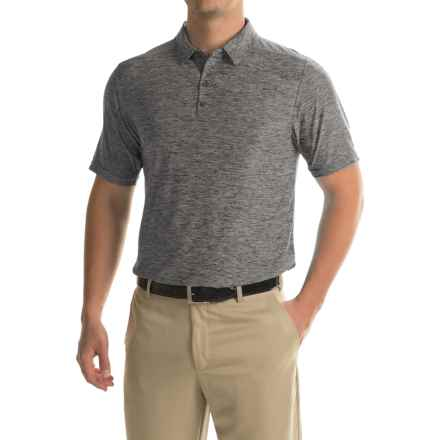 Soybu Continuum Polo Shirt - Short Sleeve (For Men) in Storm - Closeouts