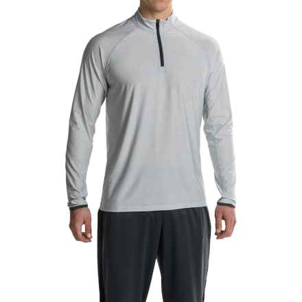 Soybu Continuum Shirt - Zip Neck, Long Sleeve (For Men) in Nickel - Closeouts