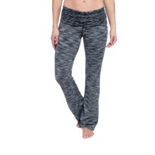 Soybu Cory Space-Dyed Bootcut Fitted Pants (For Women) in Black - Closeouts