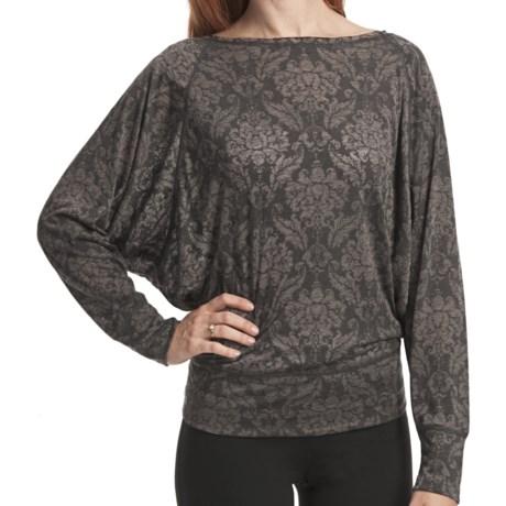 SoyBu Dolman Shirt - Long Sleeve (For Women) in French Fleur