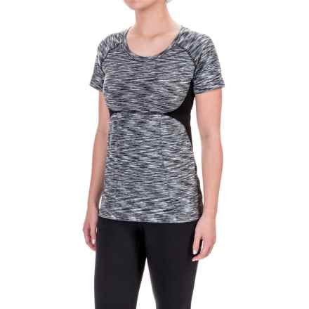 Soybu Evelyn T-Shirt - Short Sleeve (For Women) in Black - Closeouts