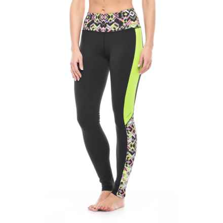 Soybu Flex Core Tights - UPF 50+ (For Women) in Reflect - Closeouts