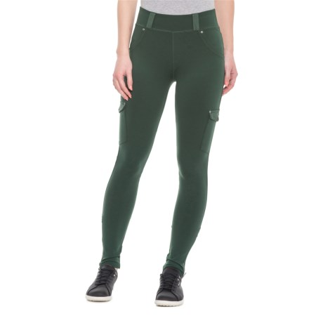 96437cd29ecfa6 Soybu Gala Yoga Leggings (For Women) in Holly