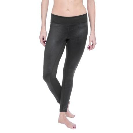 Soybu Hayden Faux-Leather Leggings (For Women) in Black