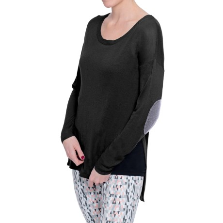 Soybu Holly Sweater Elbow Patches, Long Sleeve (For Women)