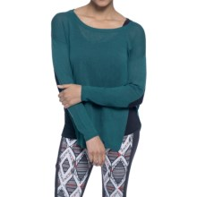 Soybu Holly Sweater - Elbow Patches, Long Sleeve (For Women) in Gemstone - Closeouts