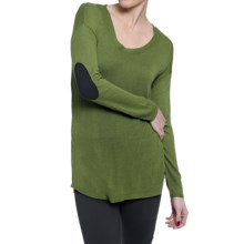 Soybu Holly Sweater - Elbow Patches, Long Sleeve (For Women) in Malachite - Closeouts
