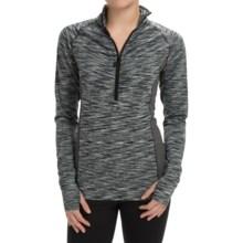 Soybu Jacinda Pullover Shirt - Zip Neck, Long Sleeve (For Women) in Black - Closeouts