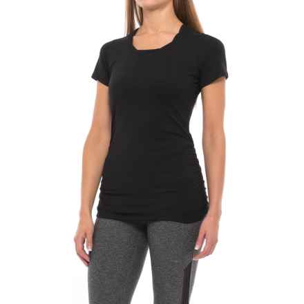 Soybu Juno T-Shirt - Short Sleeve (For Women) in Black - Closeouts