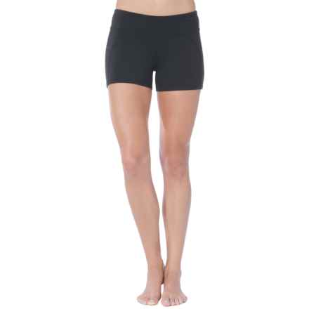 Soybu Killer Caboose Synergy Yoga Shorts - UPF 50+ (For Women) in Black - Closeouts