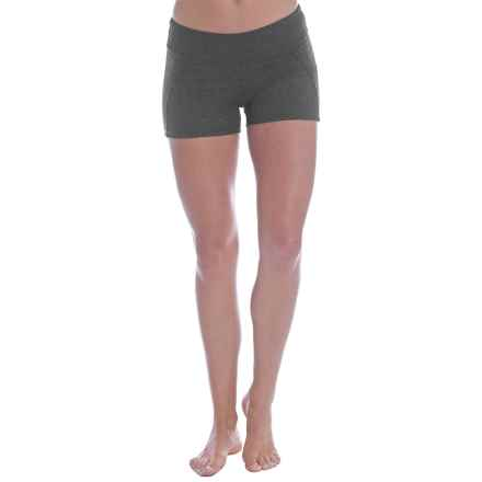 Soybu Killer Caboose Synergy Yoga Shorts - UPF 50+ (For Women) in Charcoal - Closeouts