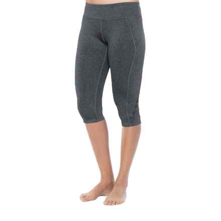 Soybu Killer Caboose Yoga Capris - UPF 50+ (For Women) in Charcoal - Closeouts