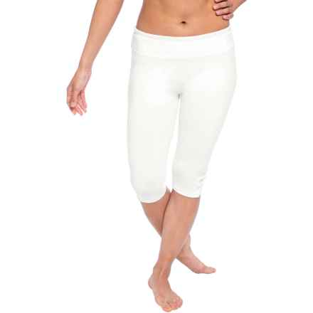 Soybu Killer Caboose Yoga Capris - UPF 50+ (For Women) in White - Closeouts