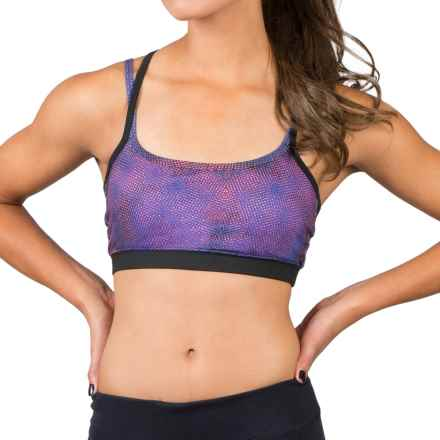 Soybu Levity Sports Bra - UPF 50+, Low Impact (For Women) in Galaxy - Closeouts