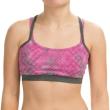 Soybu Levity Sports Bra - UPF 50+, Low Impact (For Women) in Pink Halftone - Closeouts