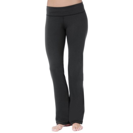 SoyBu Lotus Fit Yoga Pants (For Women) in Black