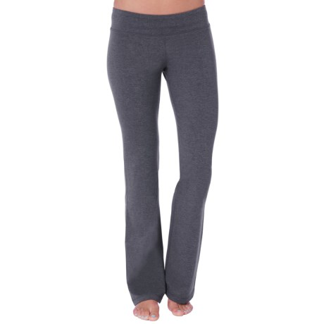 SoyBu Lotus Fit Yoga Pants (For Women) in Storm Heather
