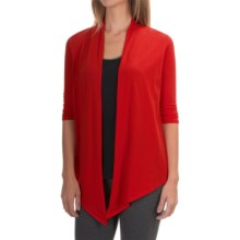 Soybu Meryl Wrap Shirt - 3/4 Sleeve (For Women) in Amore - Closeouts