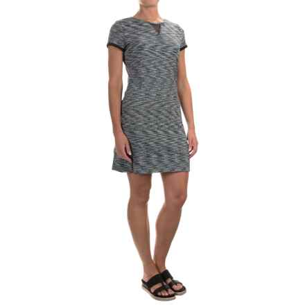 Soybu Monroe Dress - Short Sleeve (For Women) in Black - Closeouts