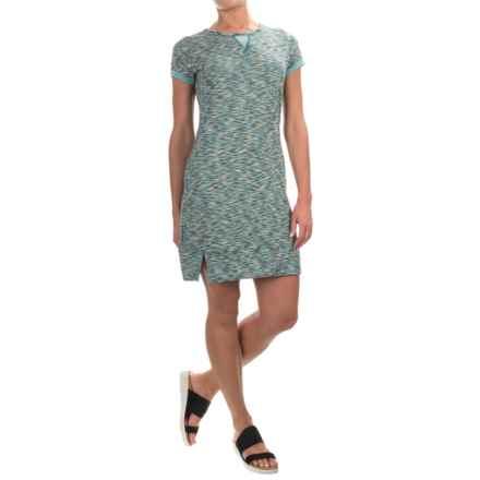 Soybu Monroe Dress - Short Sleeve (For Women) in Waterfall - Closeouts