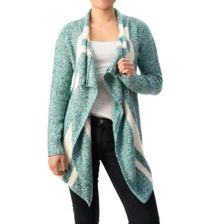 Soybu Paris Free Flow Cardigan Sweater (For Women) in Gemstone - Closeouts