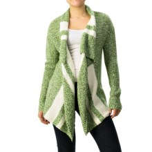 Soybu Paris Free Flow Cardigan Sweater (For Women) in Malachite - Closeouts