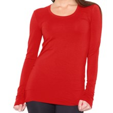 SoyBu Passion Shirt - Long Sleeve (For Women) in Scarlett - Closeouts
