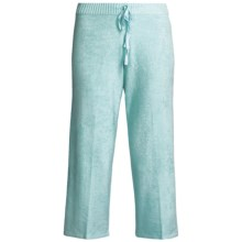 SoyBu Playwear Capri Pants - Drawstring (For Women) in Clearwater - Closeouts